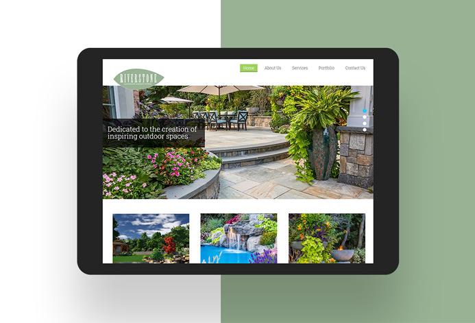 Riverstone Design Studio WordPress Website
