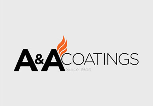 Logo Design For A & A Coatings>