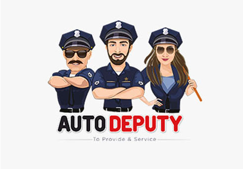 Logo Design For Auto Deputy>