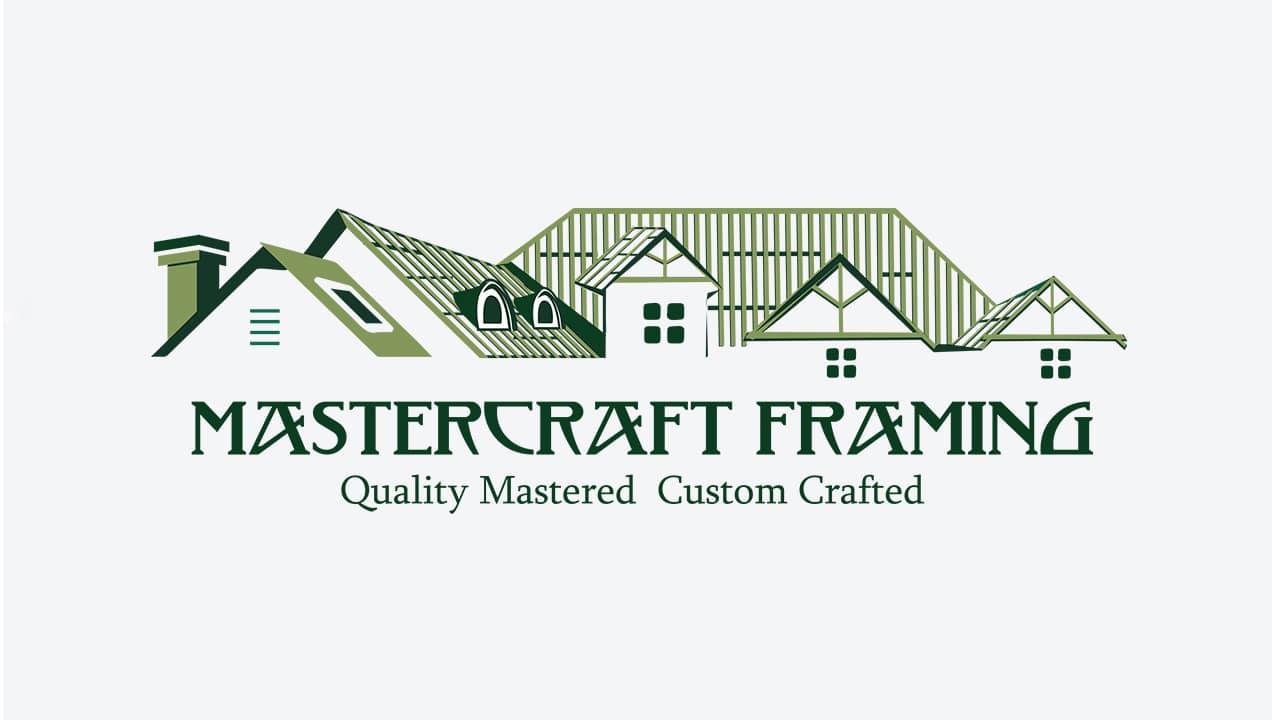 Master Framers logo design