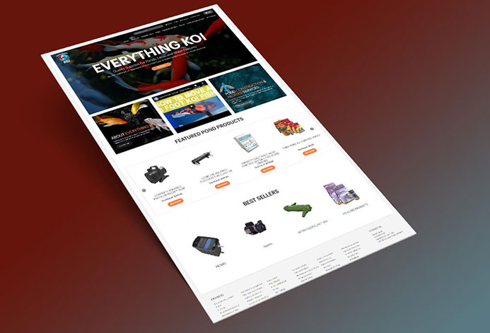 Everything Koi Magento Website