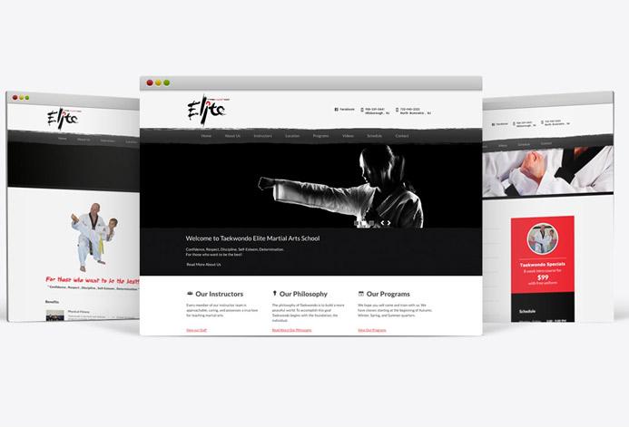 Taekwondo Elite WordPress Website