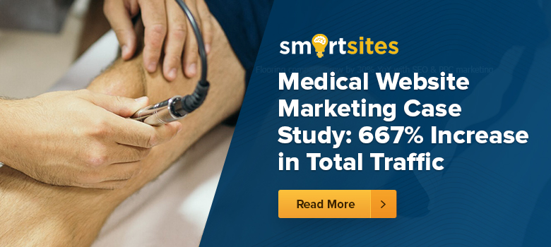 Medical Website Marketing Case Study