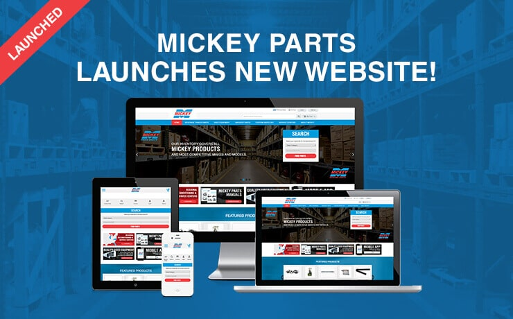 Mickey Parts Launches Redesigned Online Shop!
