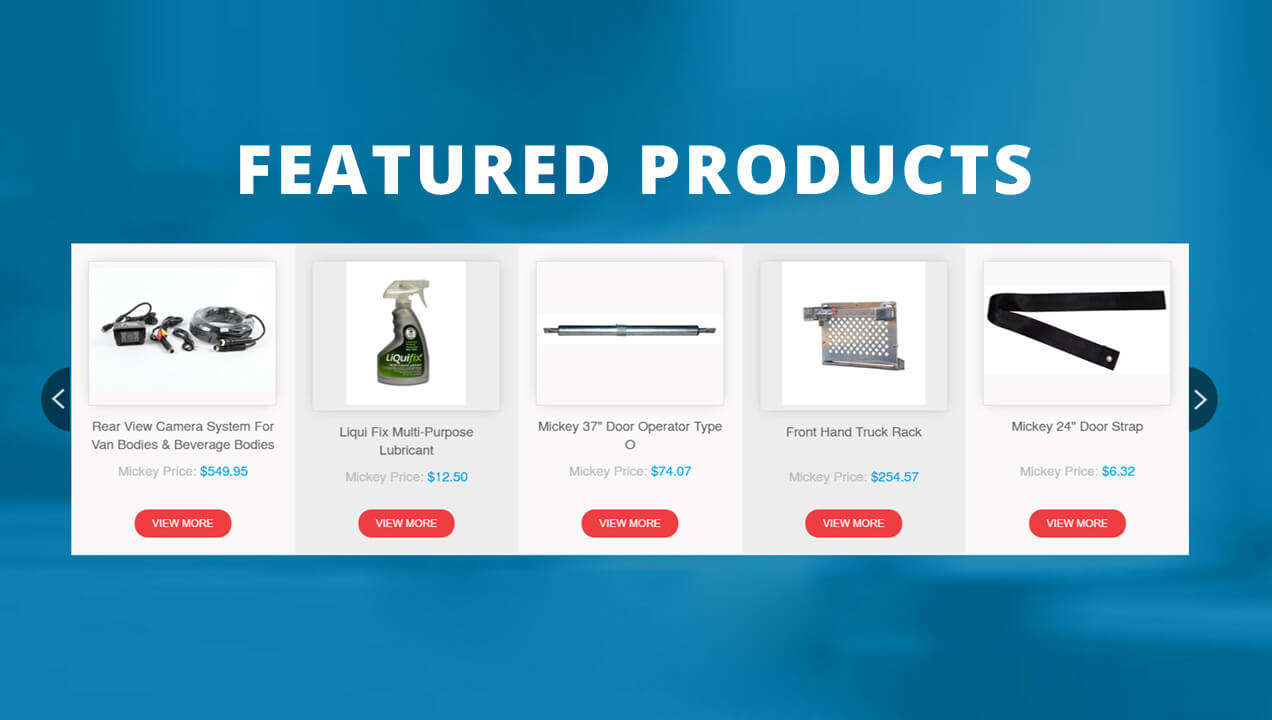 Mickey Parts Feature Product Page
