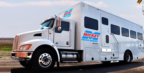 Mickey Truck Bodies Banner
