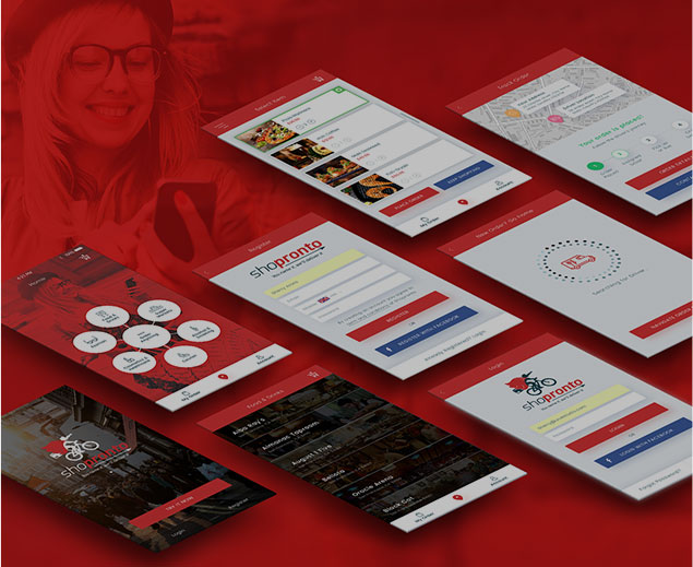 Mobile UX Designs Shopronto