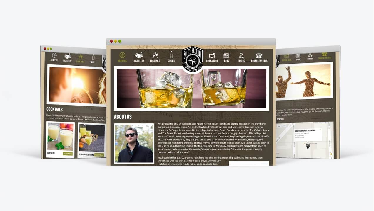 Modern Subpages South Florida Distillers