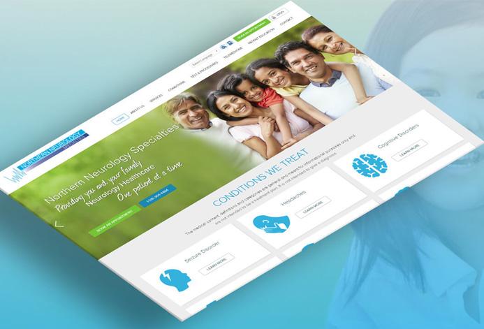 Northern Neurology Specialties WordPress Website