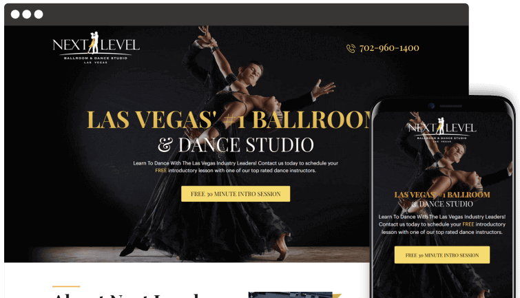 Next Level: Local Business Website Redesign