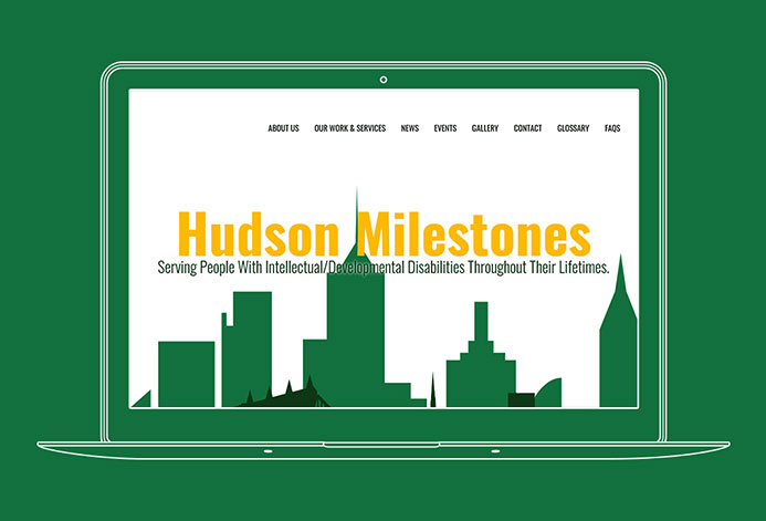 Hudson Milestones WordPress Website