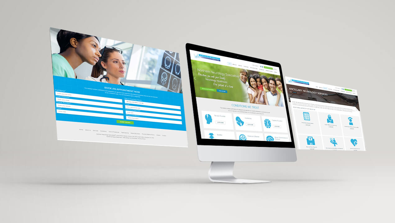 Northern Neurology Website design