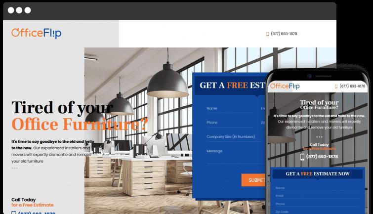 Office Flip: B2B Website Redesign