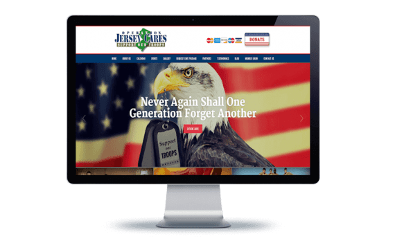 Operation Jersey Cares Org Web Design Nonprofit