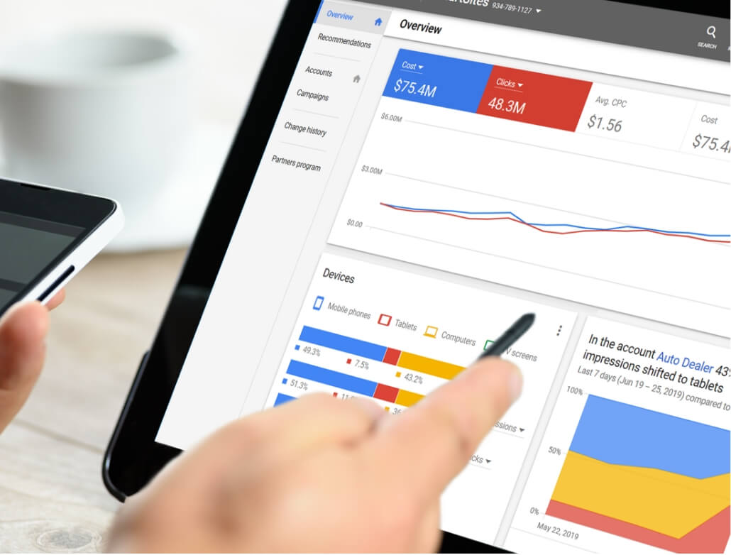 overview data ppc marketing