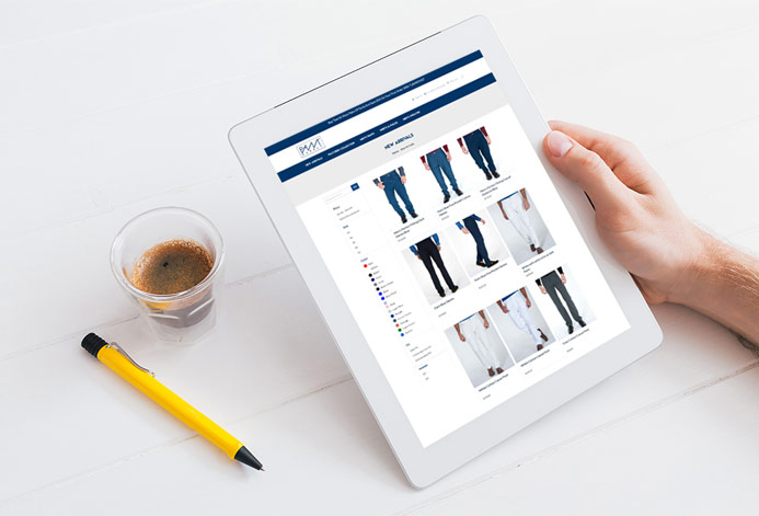 Pant Supply Magento Website