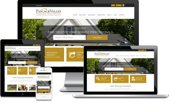 Pascack Valley Home Services Web Design Home Services