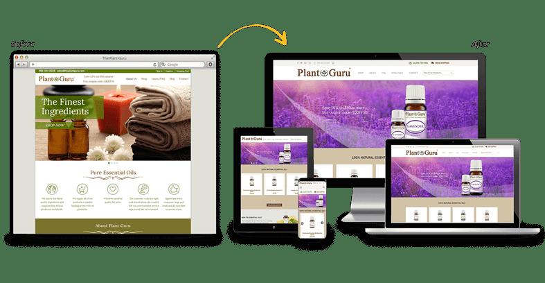 Plant Guru: B2C Website Redesign