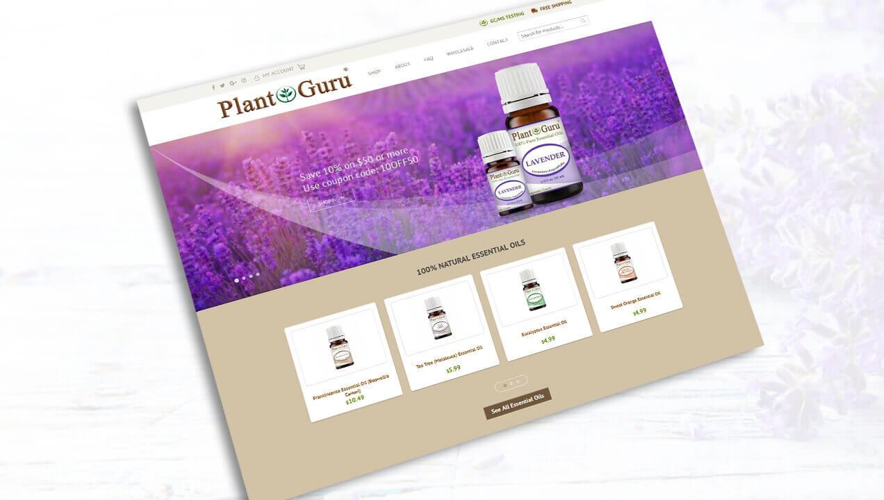 Plant Guru Homepage