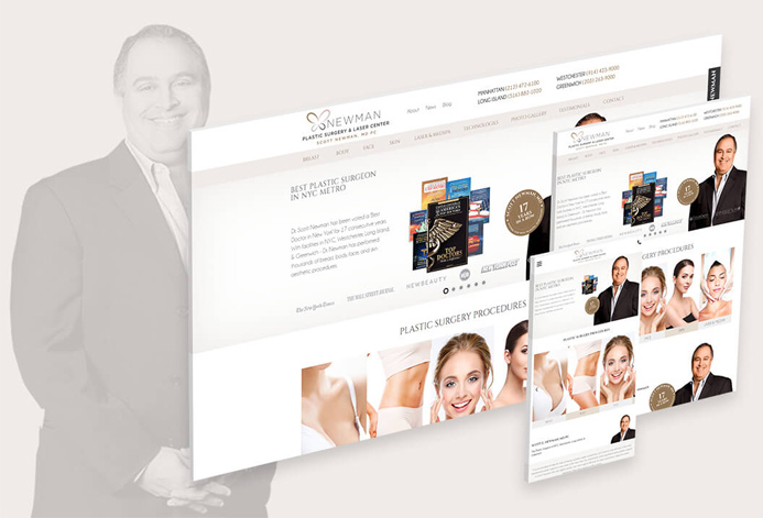 Newman Plastic Surgery Center WordPress Website