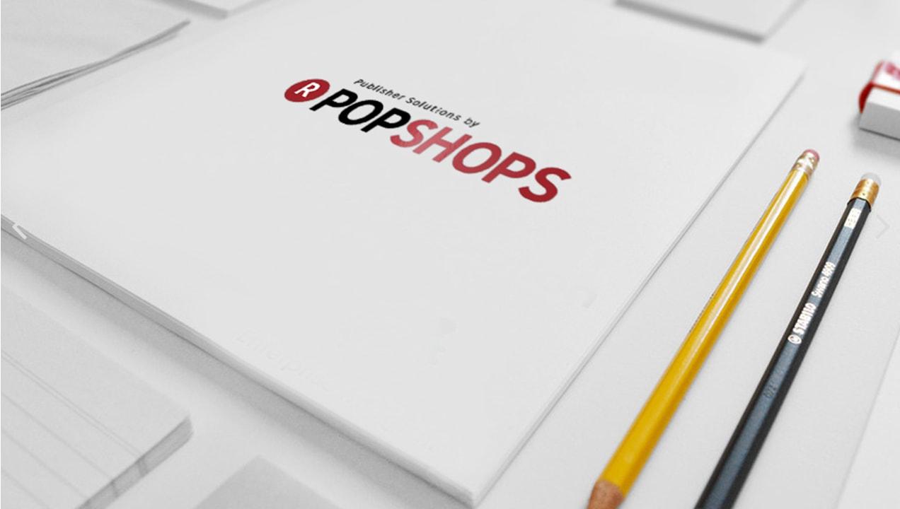 Popshops promotional material