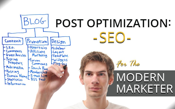 Post Optimization: SEO For The Modern Marketer