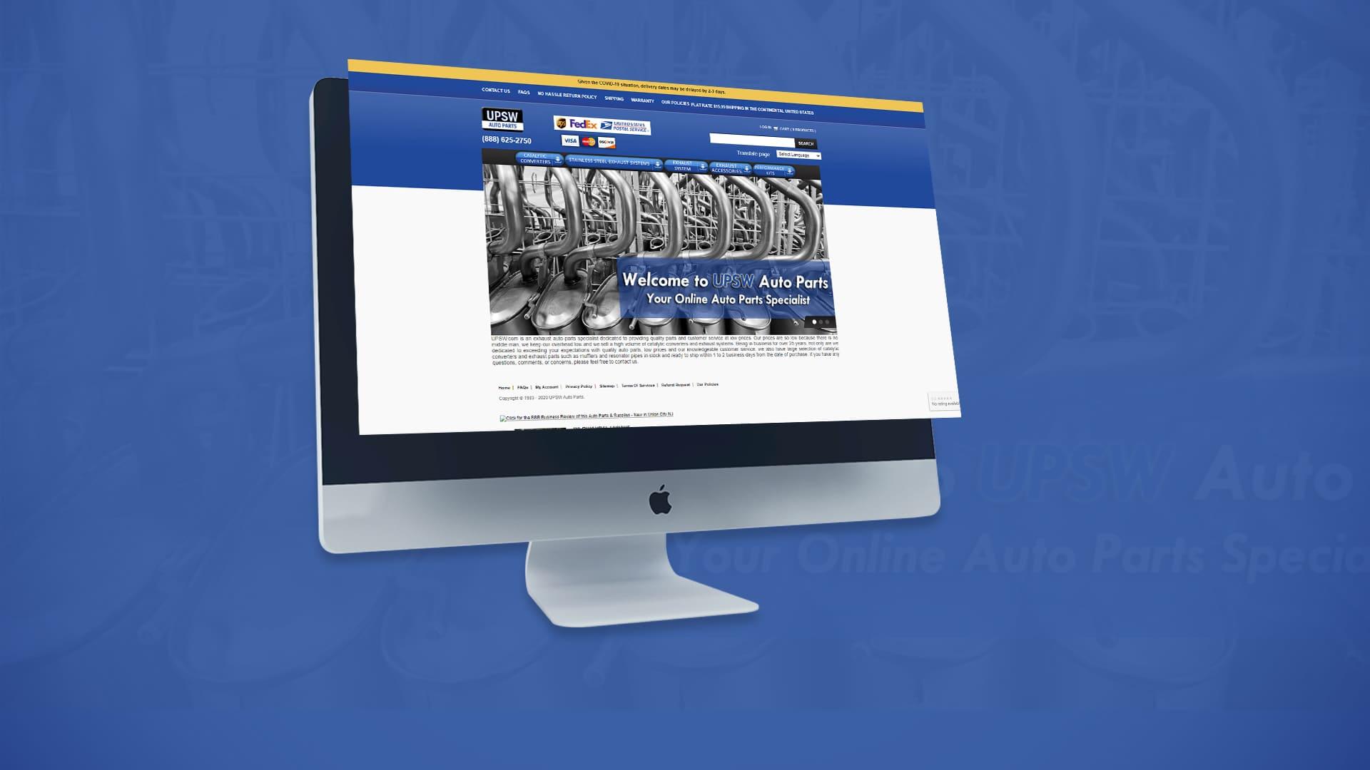 PPC Automotive: UPSW- Online Auto Parts Specialist