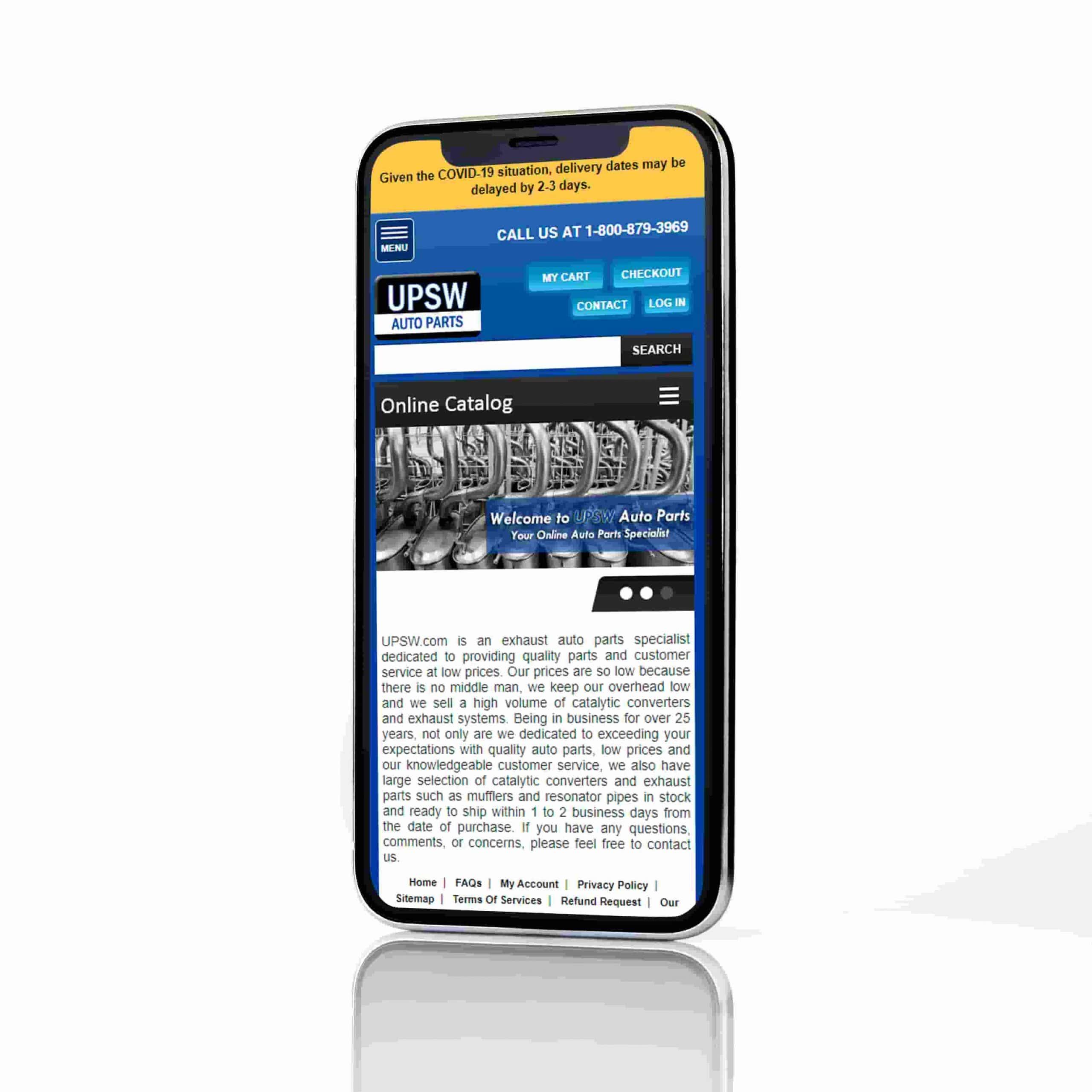 PPC Automotive: UPSW Catalog
