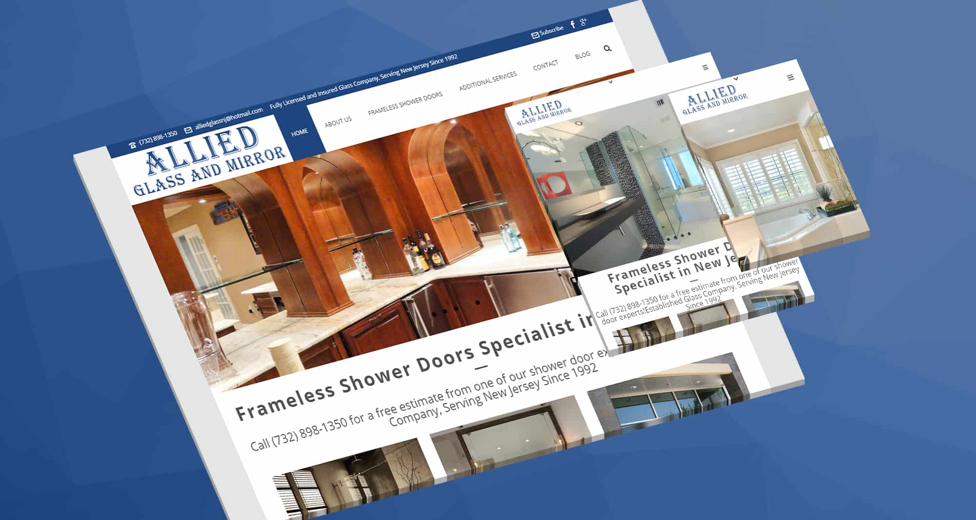 PPC Home Services: Allied Glass and Mirror Frameless Shower Doors- Specialist