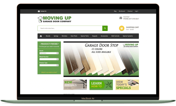 MovingUp Garage Doors PPC Marketing Paid Search