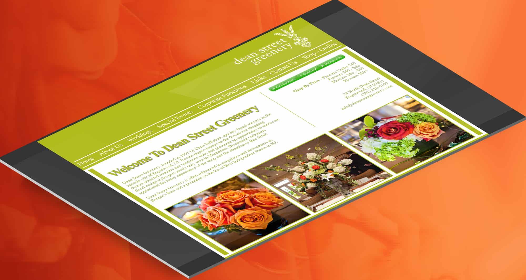 PPC Retail: Dean Street Greenery Homepage