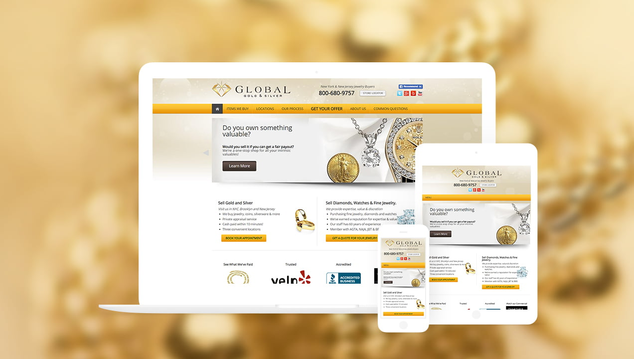 PPC Retail: Global Gold and Silver- Get Your Offer