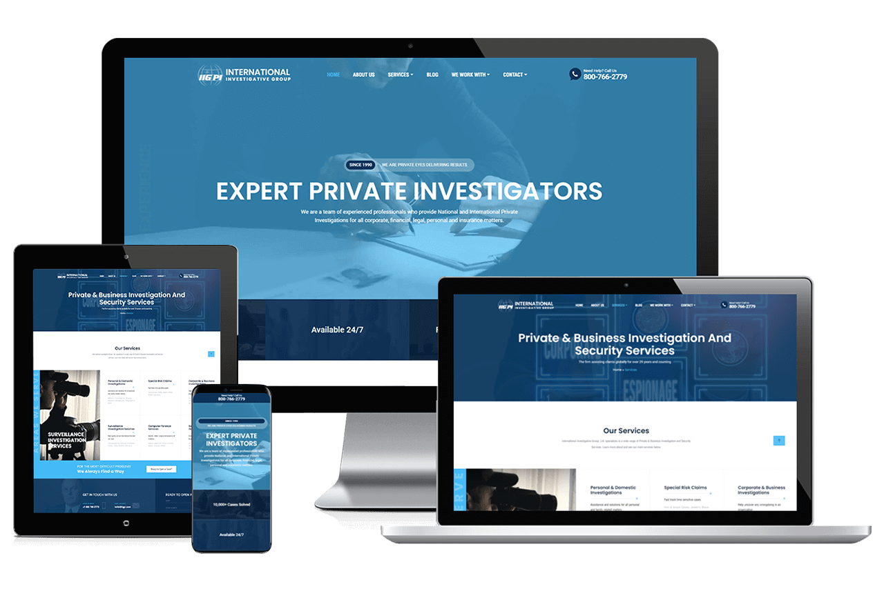 PPC Small Business: International Investigators Responsive
