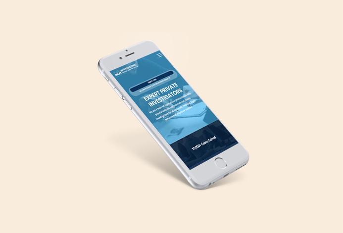 International Investigators WordPress Website