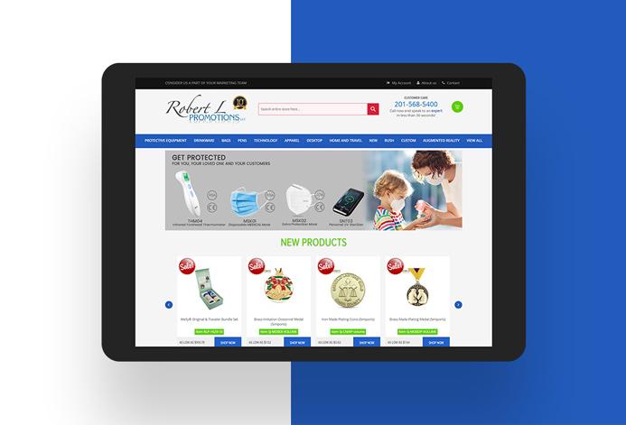 Robert L Promotions WordPress Website