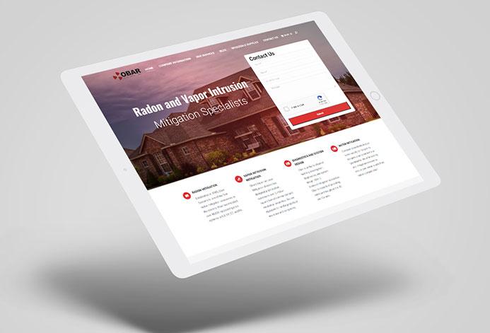 Obar Systems WordPress Website