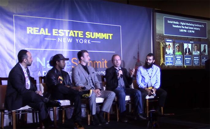 Social Media Real Estate Panel