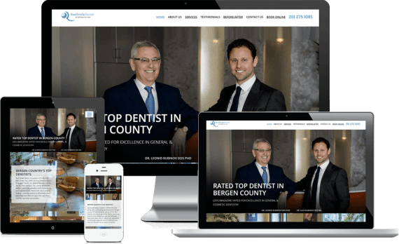 Real Smile Dental Web Design Medical & Healthcare