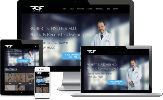 Robert Fischer Plastic Surgery Web Design Medical & Healthcare