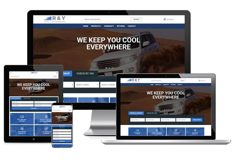 ry-compressor-automotive-website-redesign