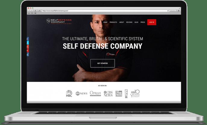 Ecommerce website for self defense training