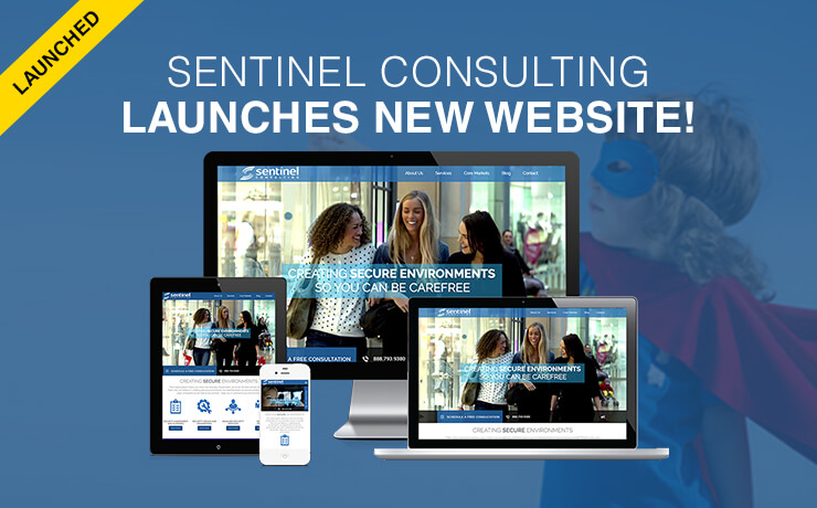Sentinel Consulting Launches New Website!