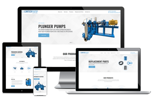 Carter Pump Web Design Business to Business