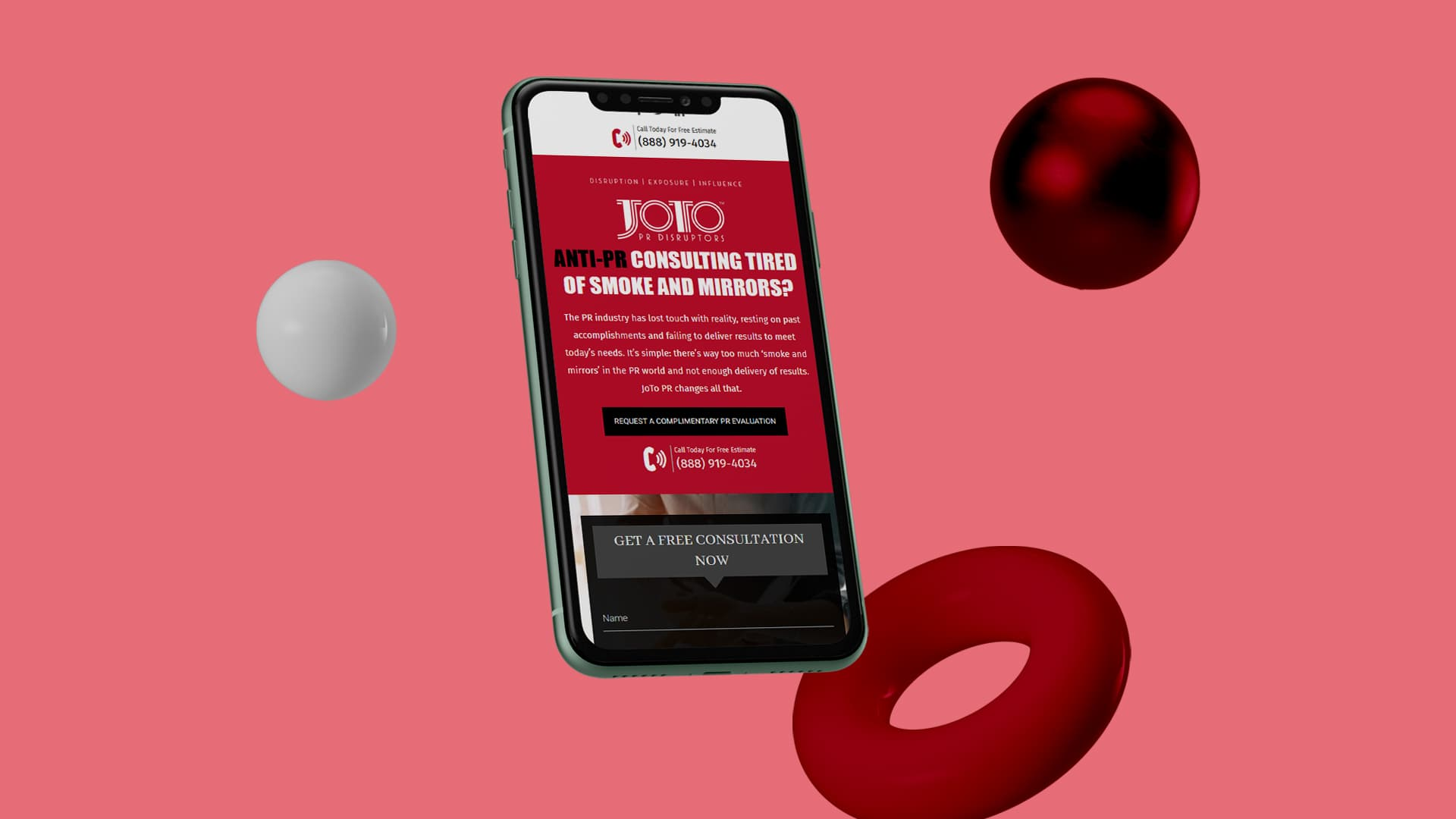 SEO & PPC Business-to-Business: Joto Ventures, in Mobile