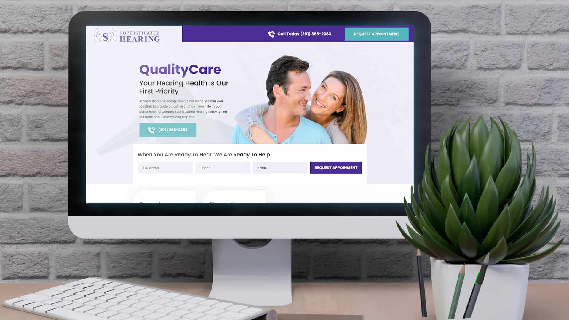 SEO & PPC Medical & Healthcare: Sophisticated Hearing QualityCare, in Desktop