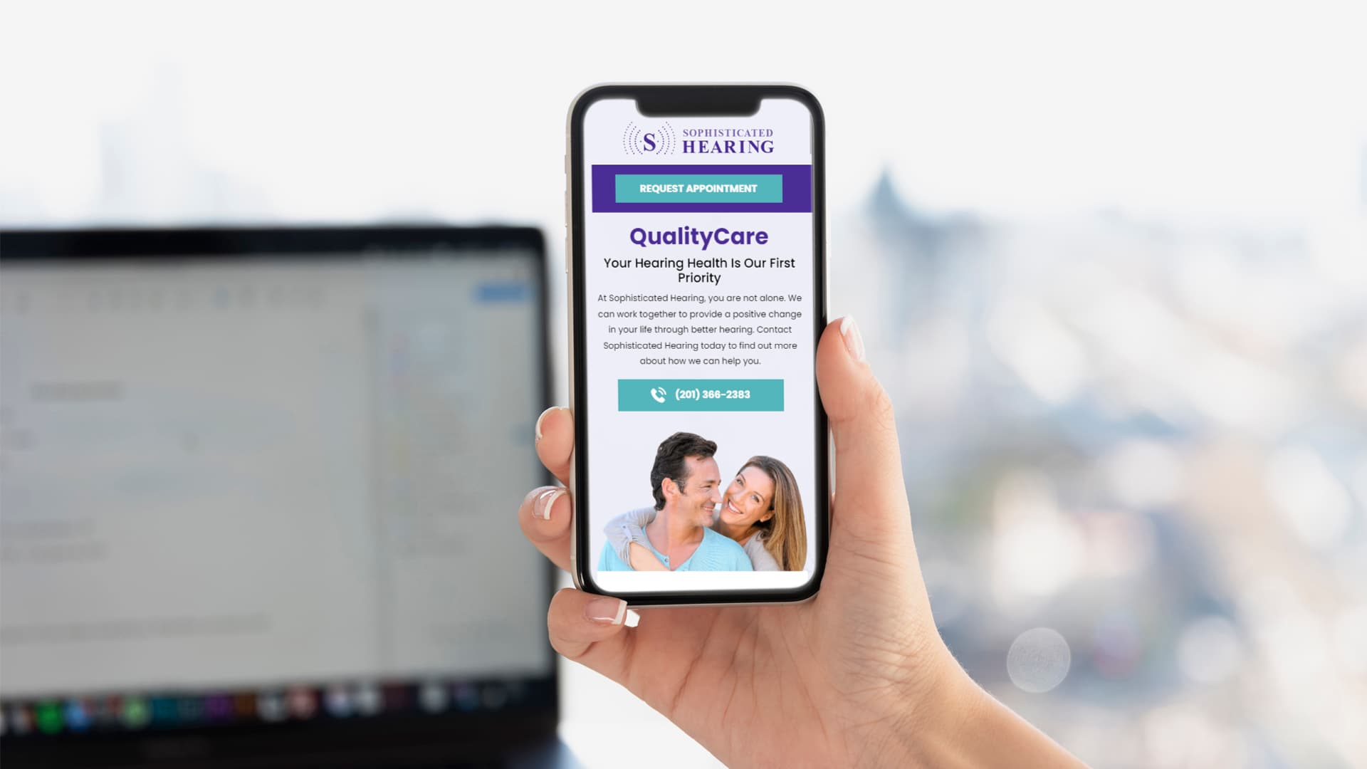 SEO & PPC Medical & Healthcare: Sophisticated Hearing QualityCare, in Mobile