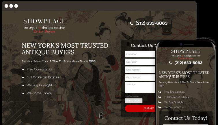 showplace-b2c-website-redesign