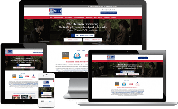 The Shulman Law Group Web Design Legal Services