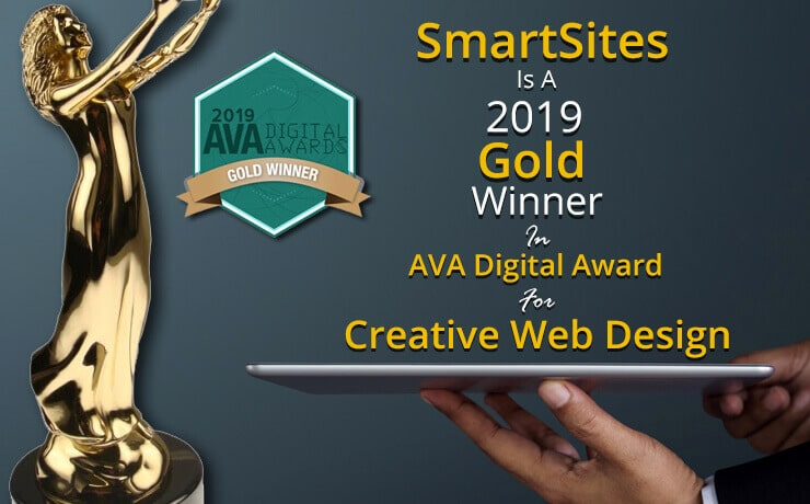 AVA digital award creative web design