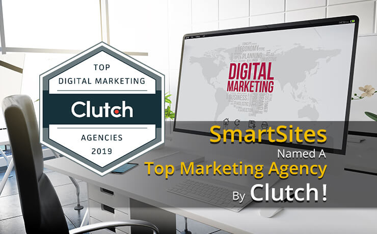 SmartSites Named a Top Marketing Agency by Clutch!